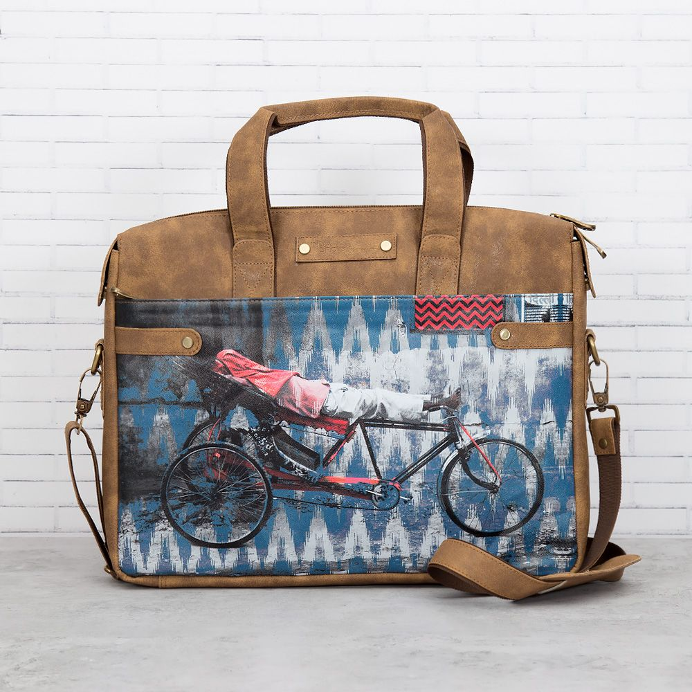 Tana Tuk Tuk Briefcase Bag - Buy Laptop Bag Online