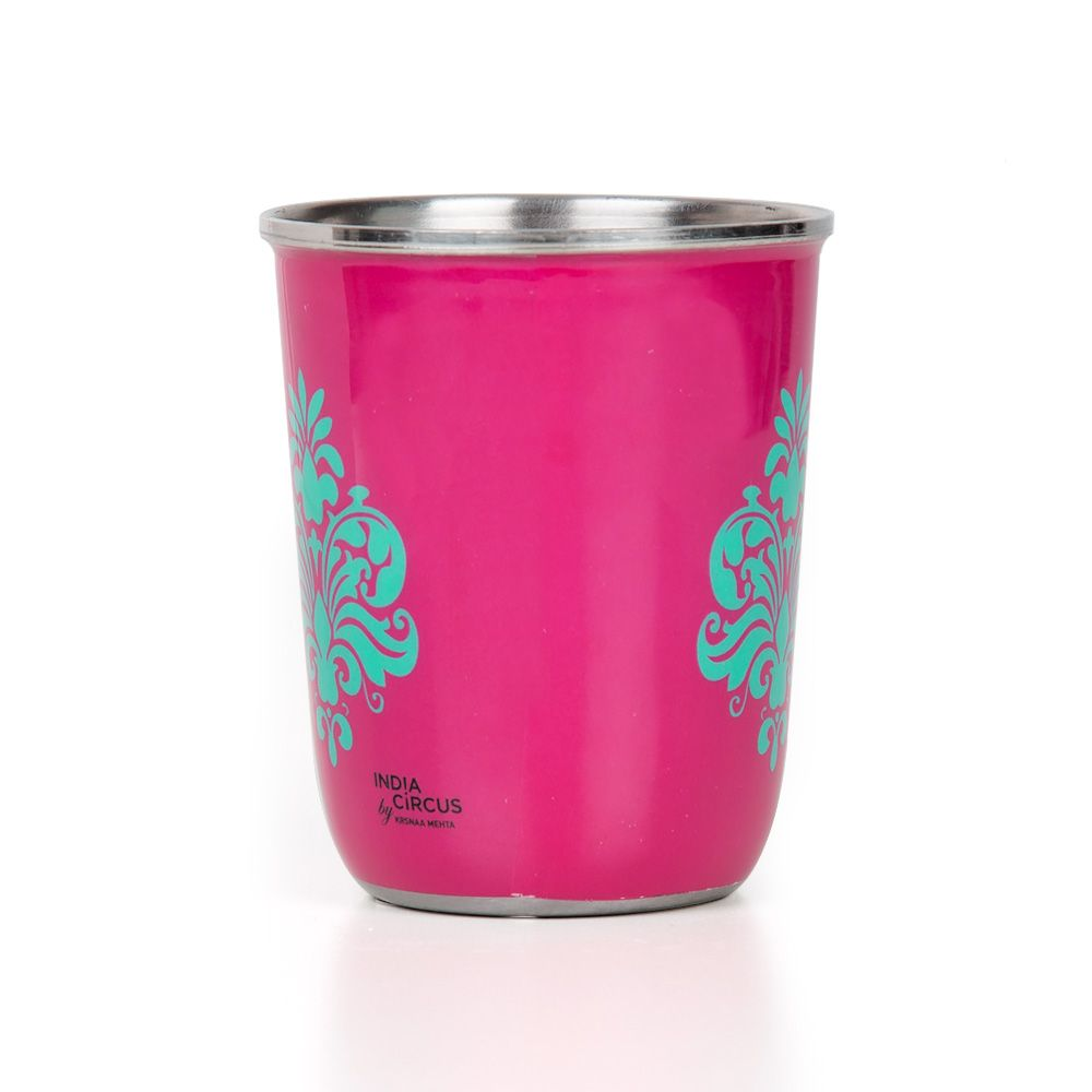 Floral Blossom Small Steel Tumbler (Set of 2)
