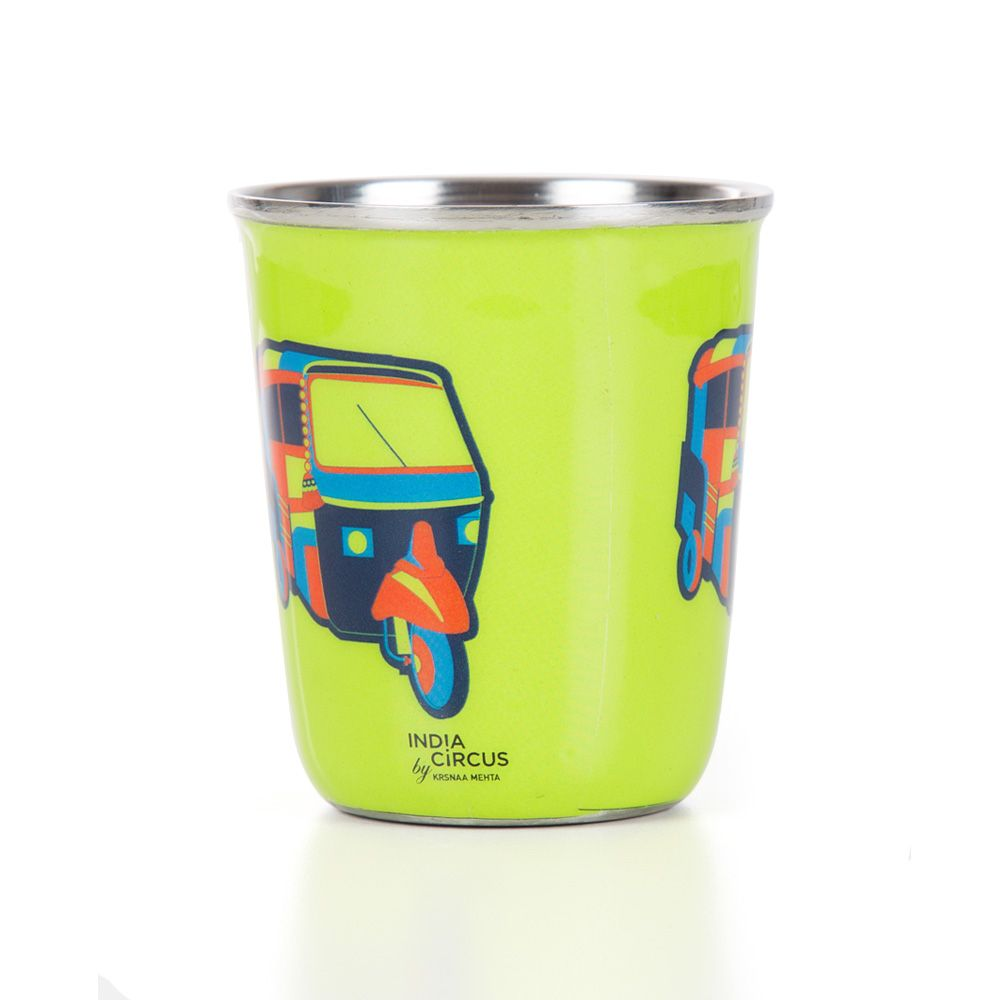 The Indian Influx Small Steel Tumbler (Set of 2)