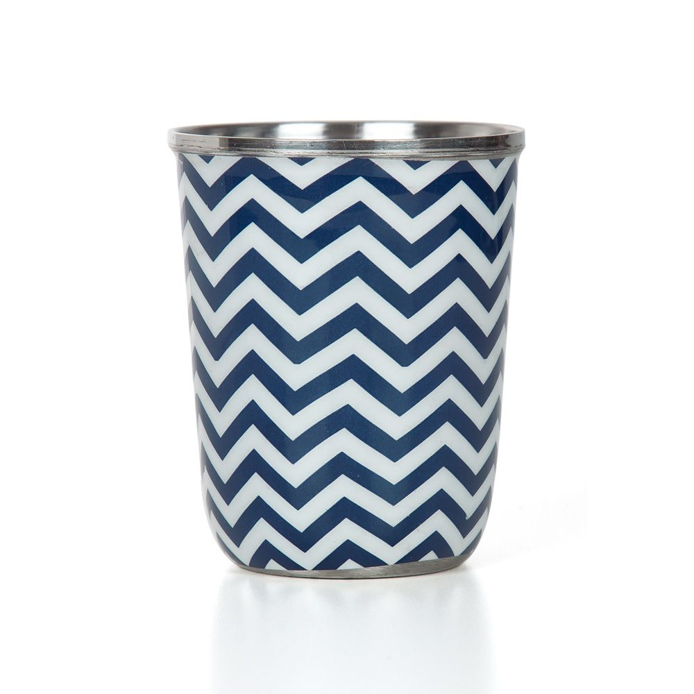 Chevron Melavo Small Steel Tumbler (Set of 2)