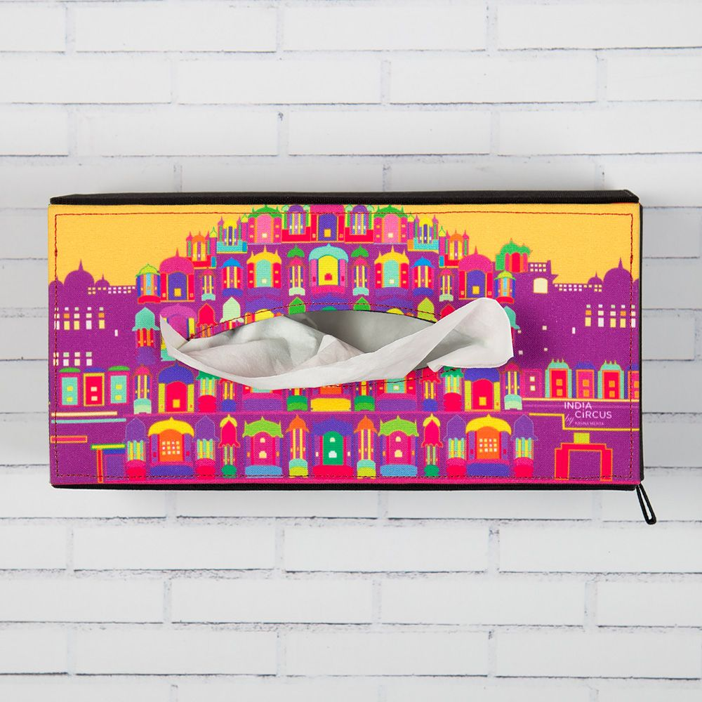 Palatial Illusions Tissue Box Holder