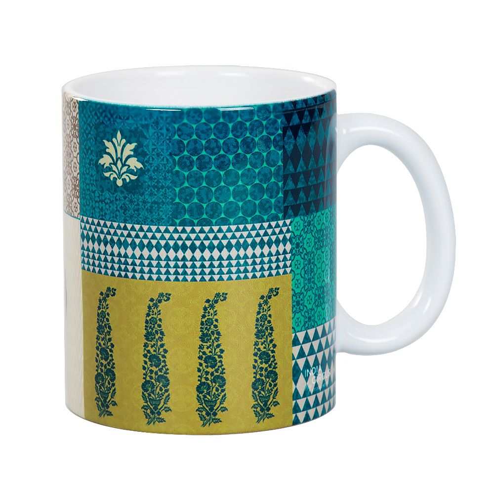 Geometric Pirouette Mug
