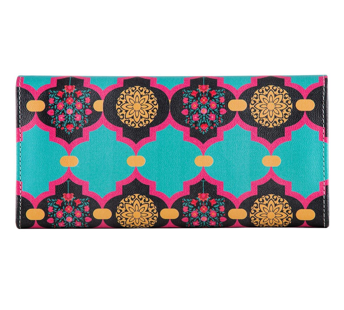 Latticed Synergy Ladies Wallet