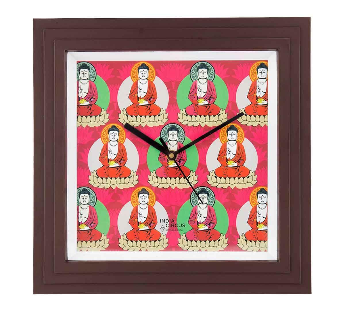 Buddatva Mandala Wall Clock