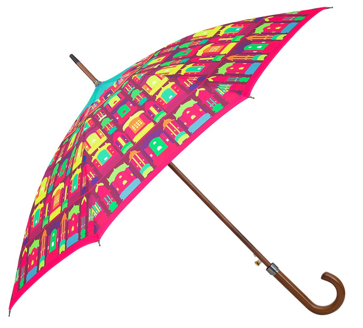 Aqua Coloured Umbrella