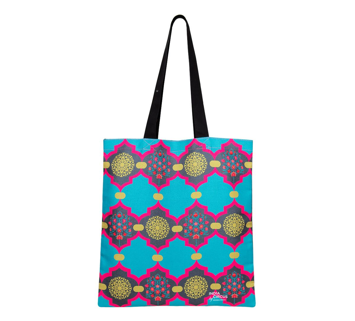 Latticed Synergy Jhola Bag
