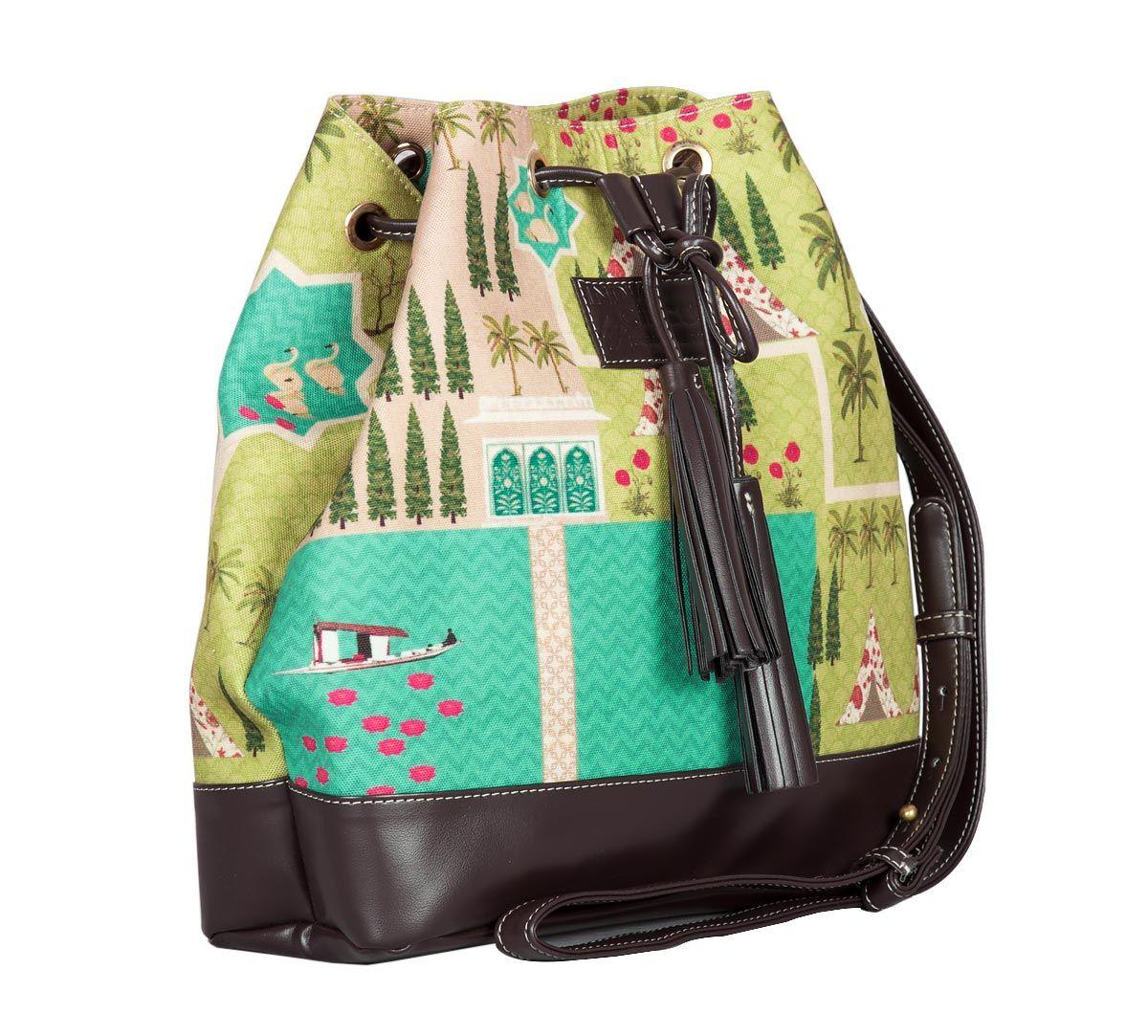 Maze Garden Hobo Bag