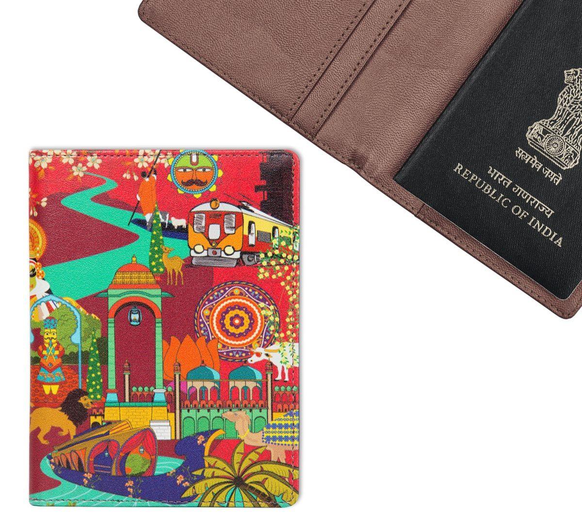 Bedlam Dramatics Passport Cover