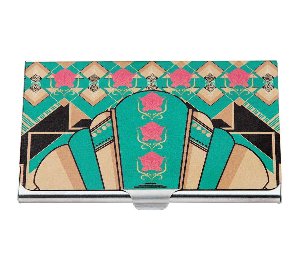Geometric Chimera Visiting Card Holder