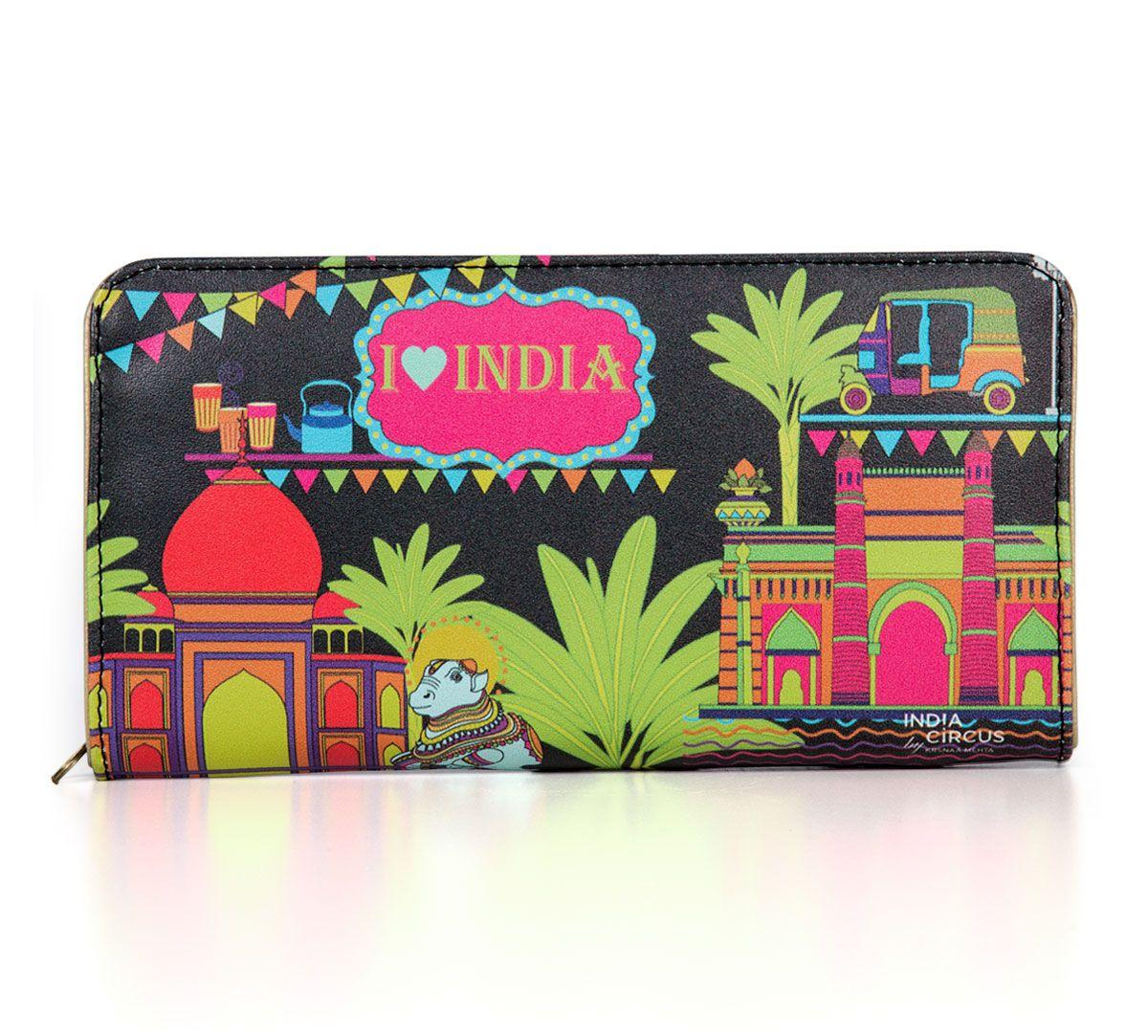 India Indulgence Zipper Wallet