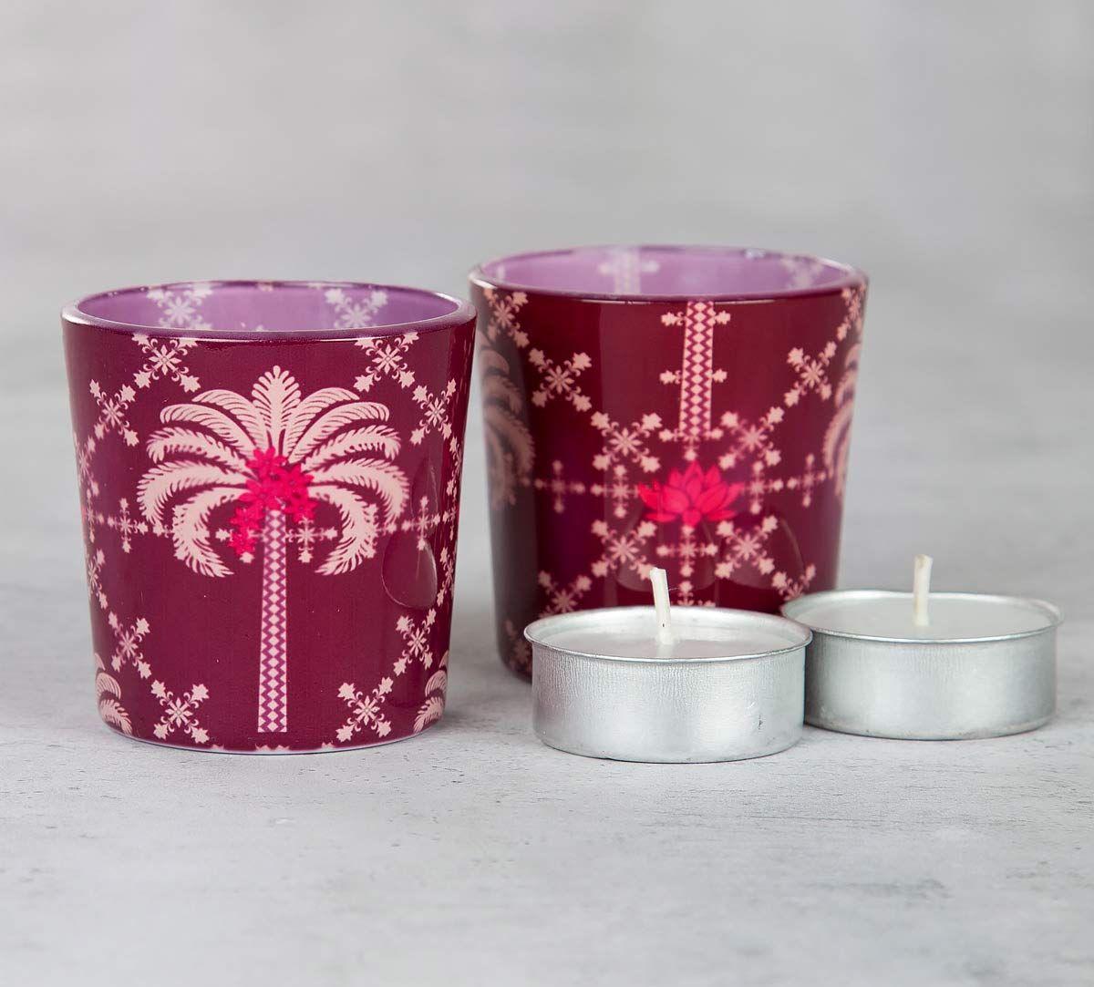 Poly Palmeira Tea Light Holder (Set of 2)