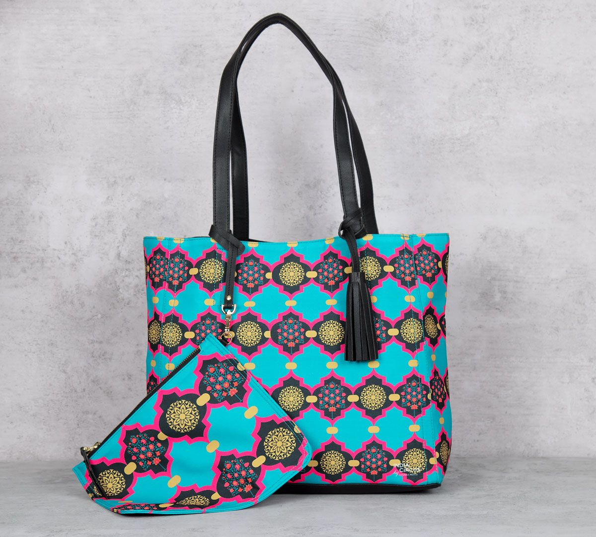Latticed Synergy Reversible Bag