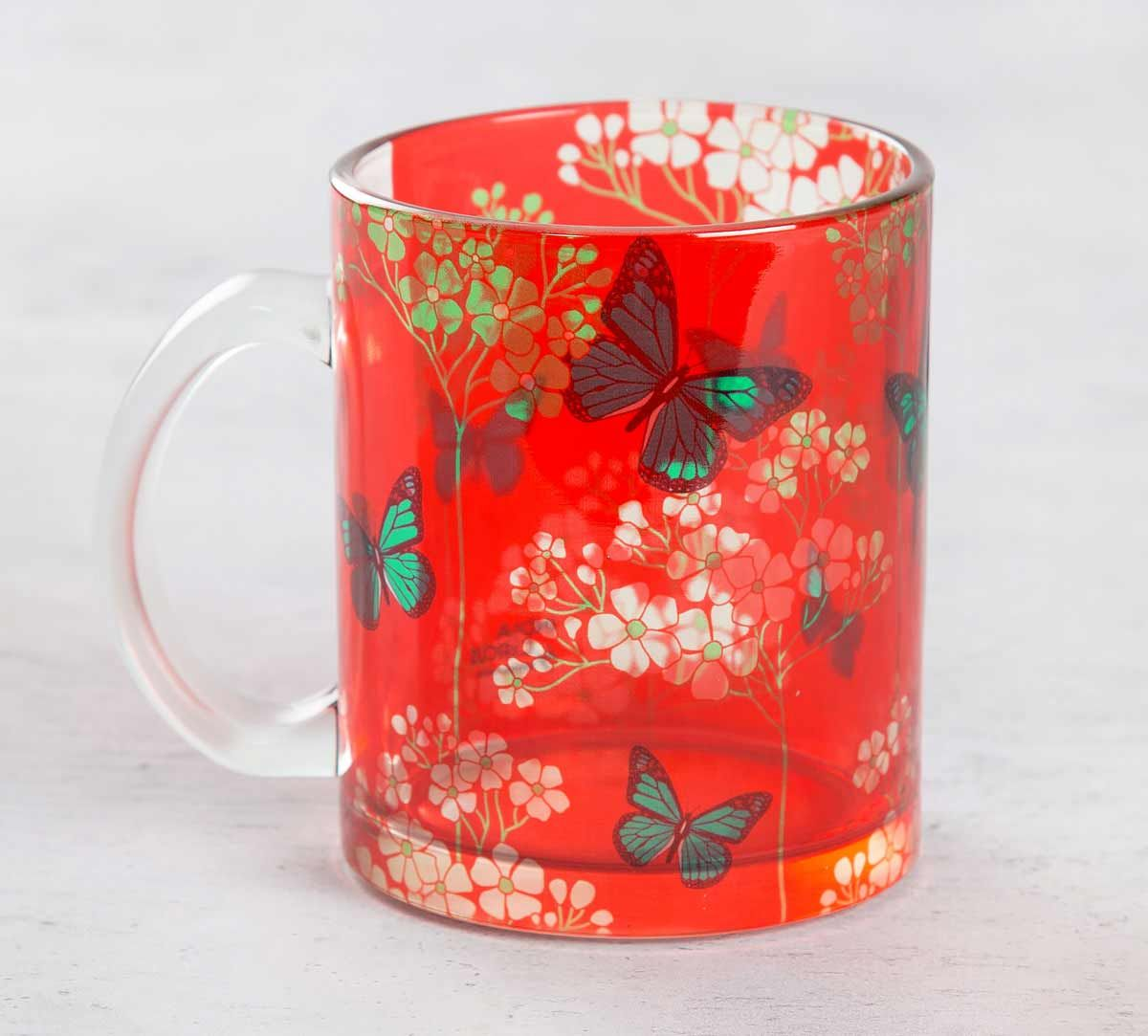 Butterfly Effect Glass Mug