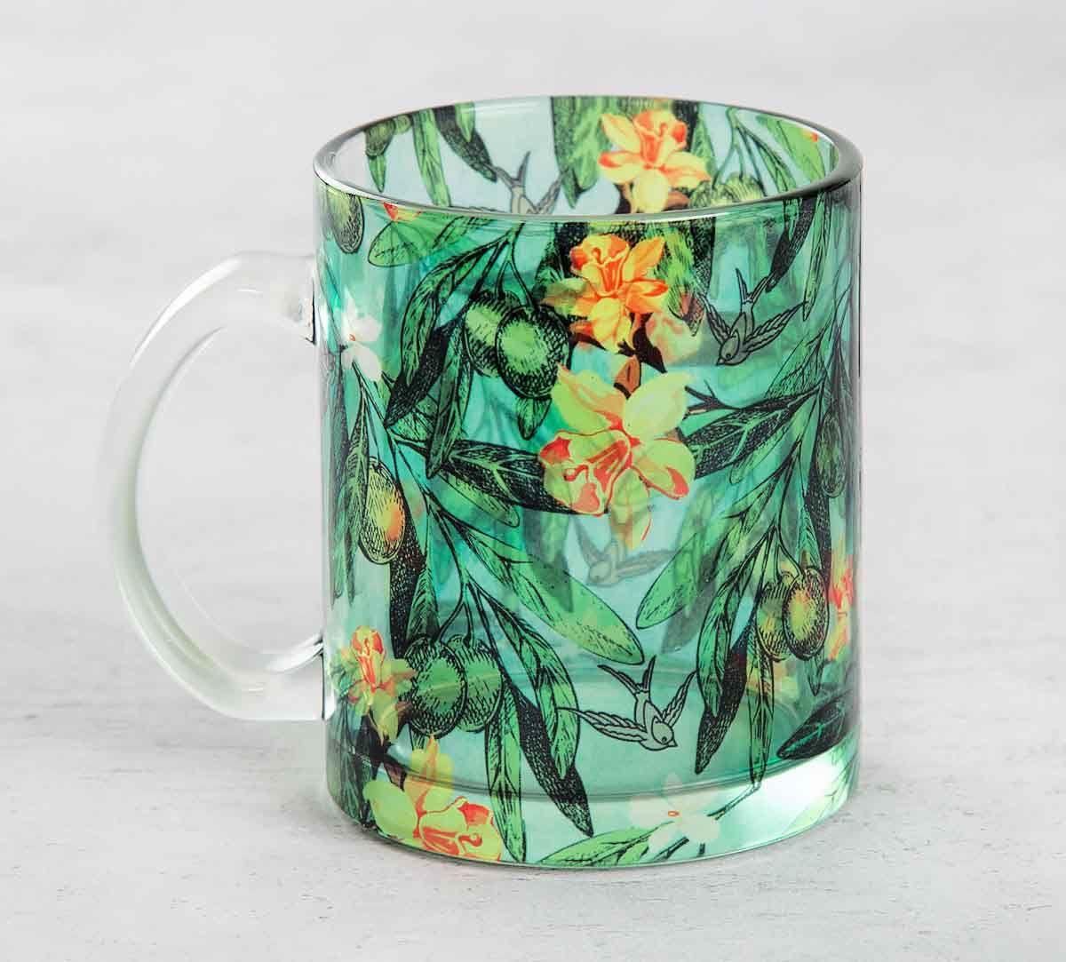 Hummingbird Hemmingway Glass Mug