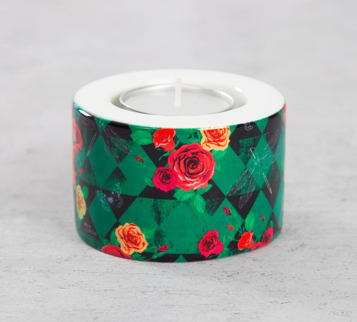 Floral Flutter Tea Light Holder