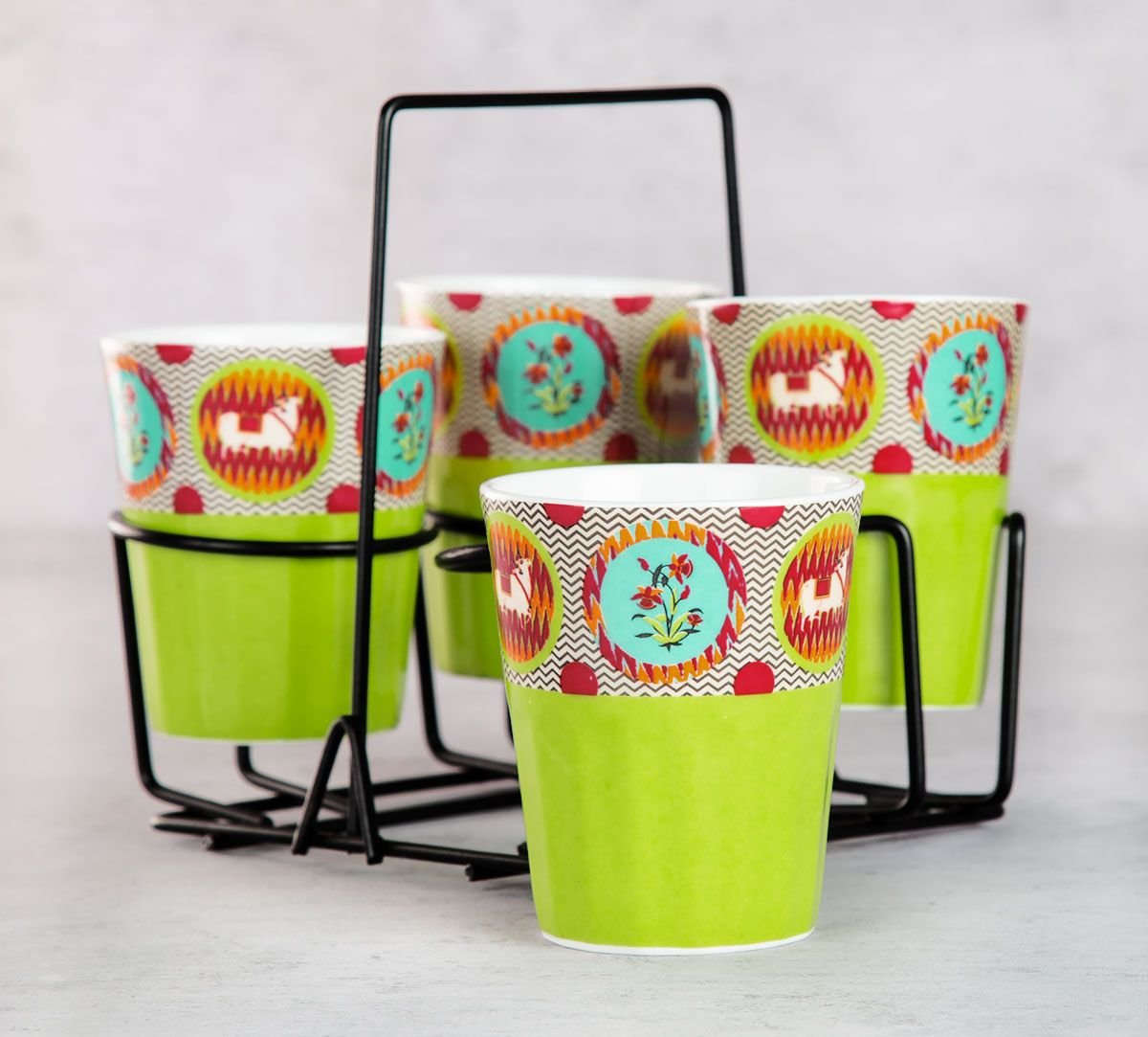 Montage of Euphoria Chai Glasses (Set of 4)