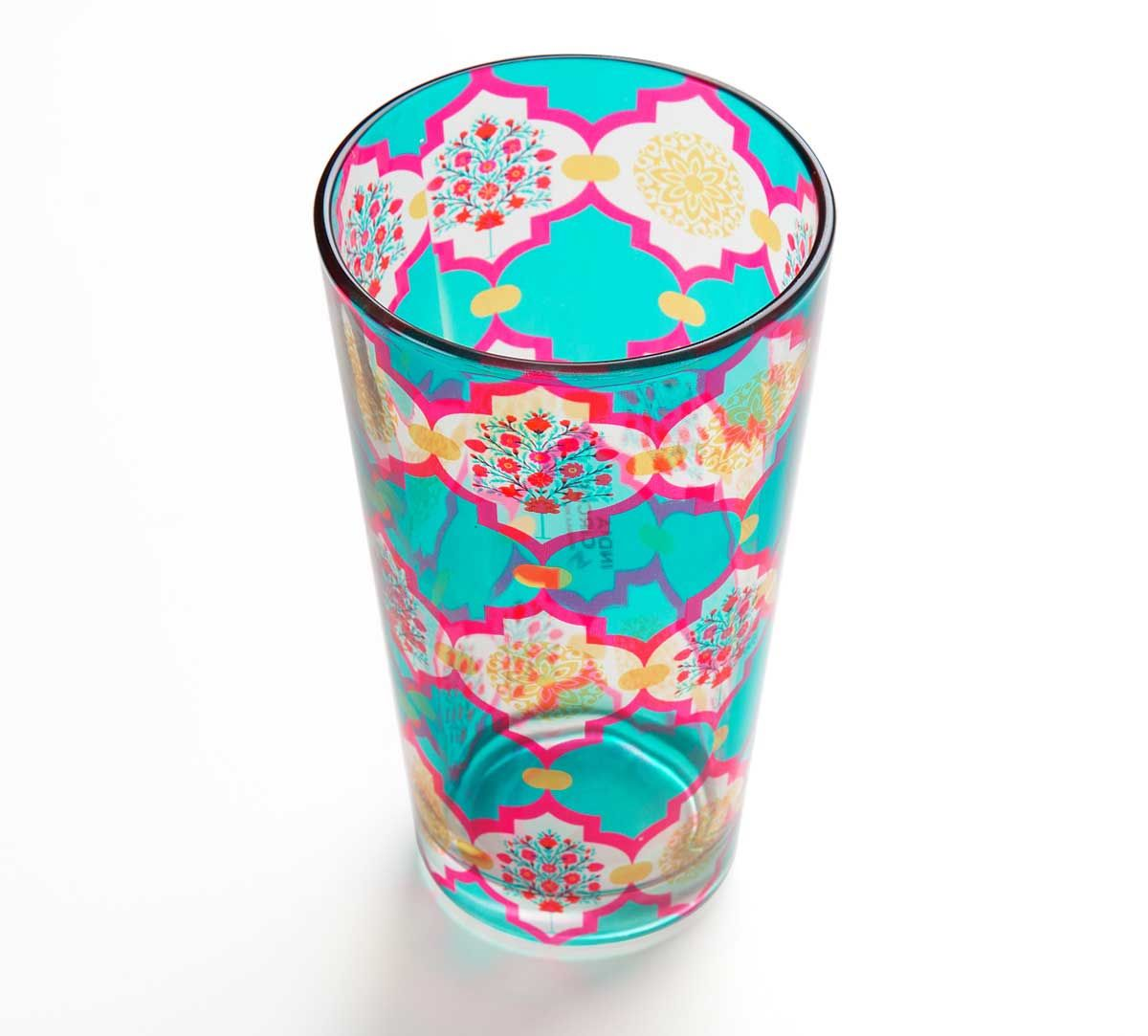 Latticed Synergy Glass Tumbler
