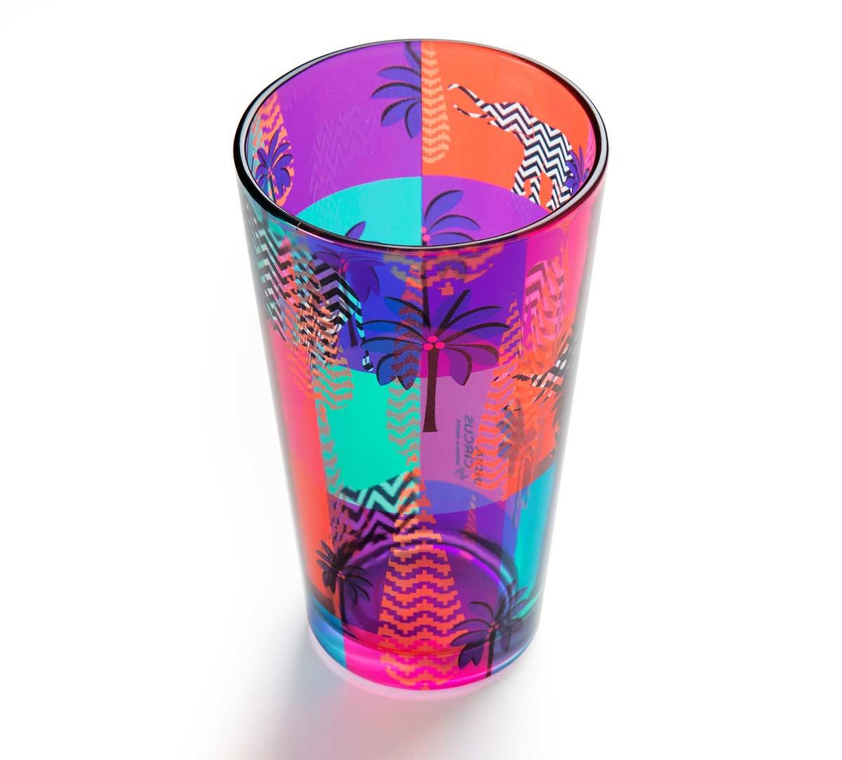 Putative Insignia Glass Tumbler