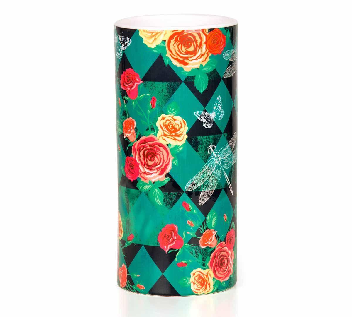 Floral Flutter Vase