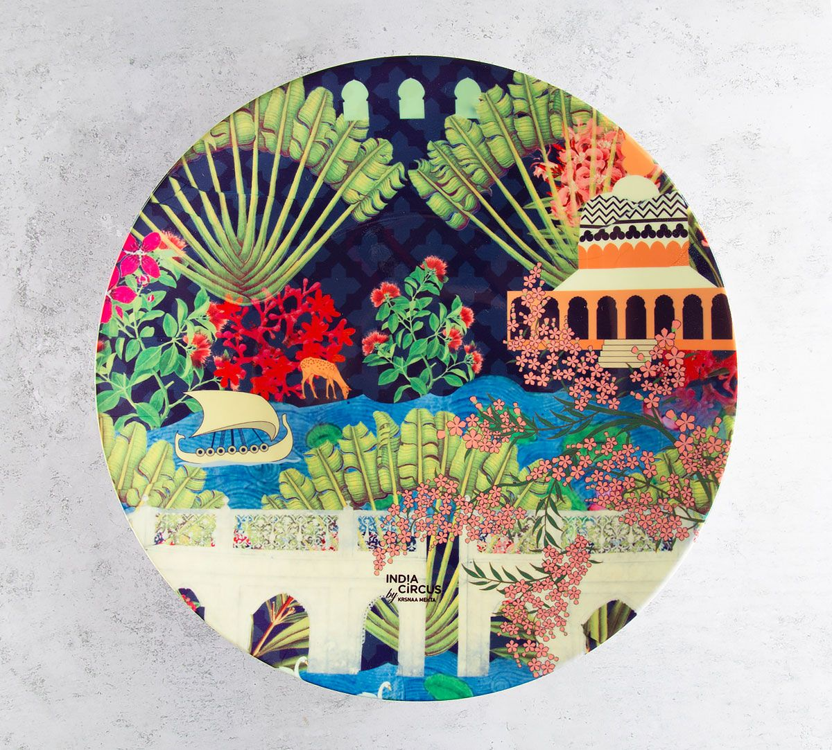 Banks of Silvassa Decorative and Snacks Platter