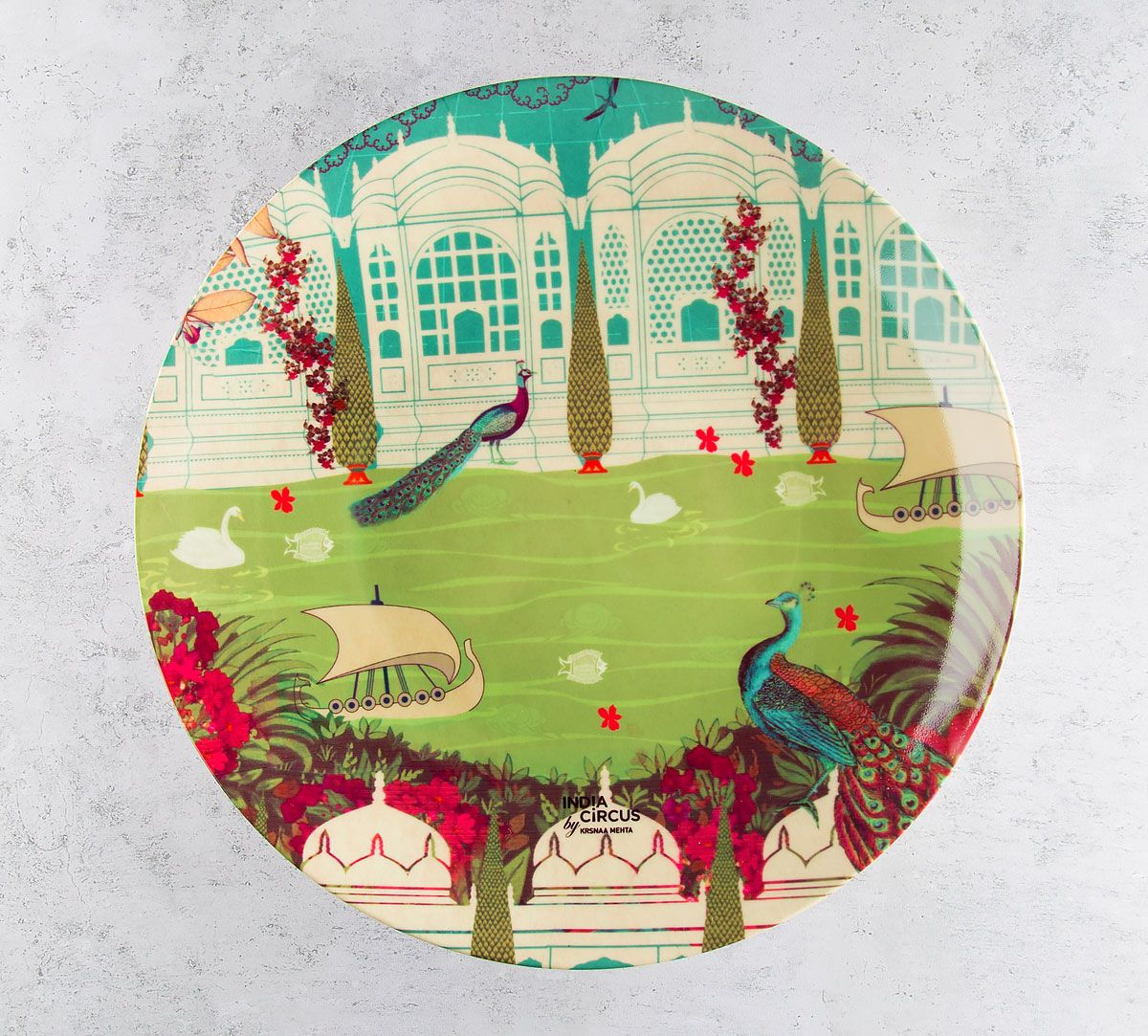 Garden of ascendancy Decorative and Snacks Platter