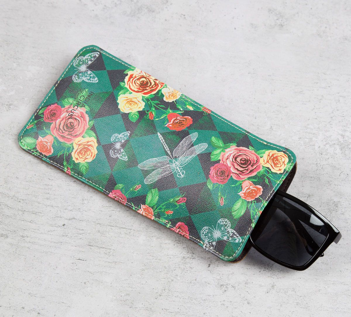 Floral Flutter Spectacle Case