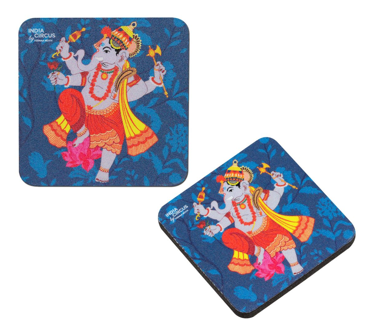 Ganesha Purana Fridge Magnet