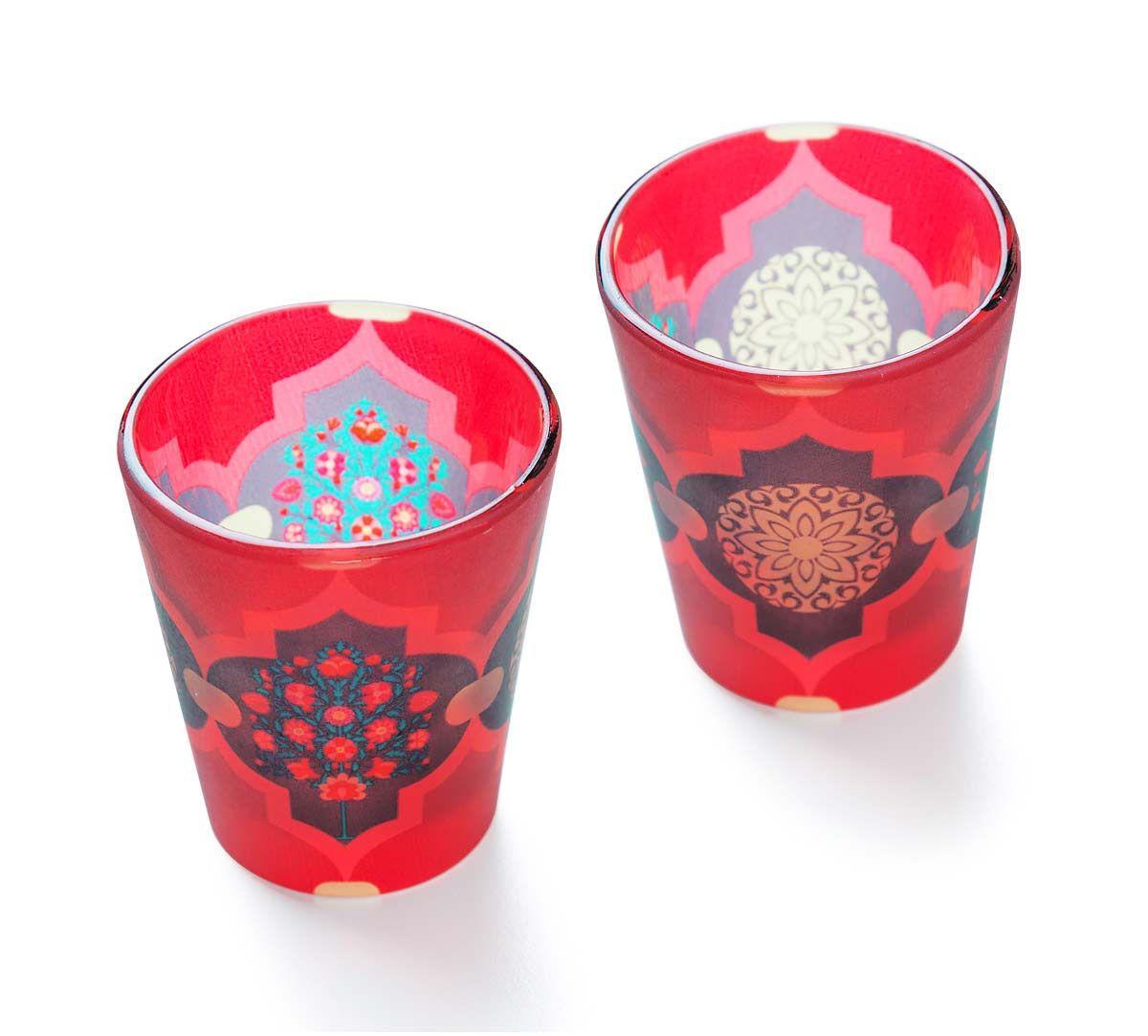 Latticed Synergy Shot Glass (Set of 2)