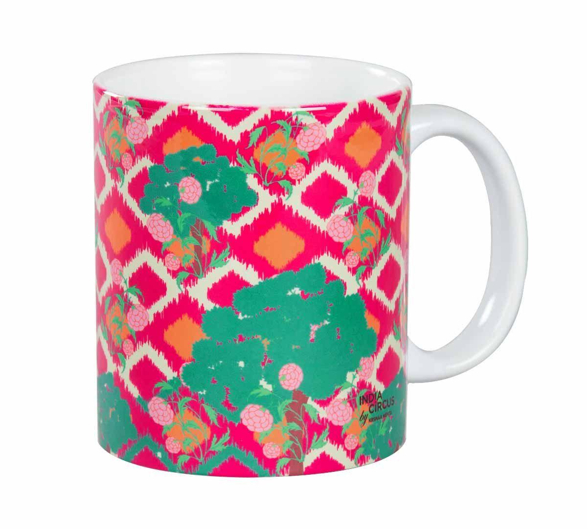 Lattice Vermillion Mug