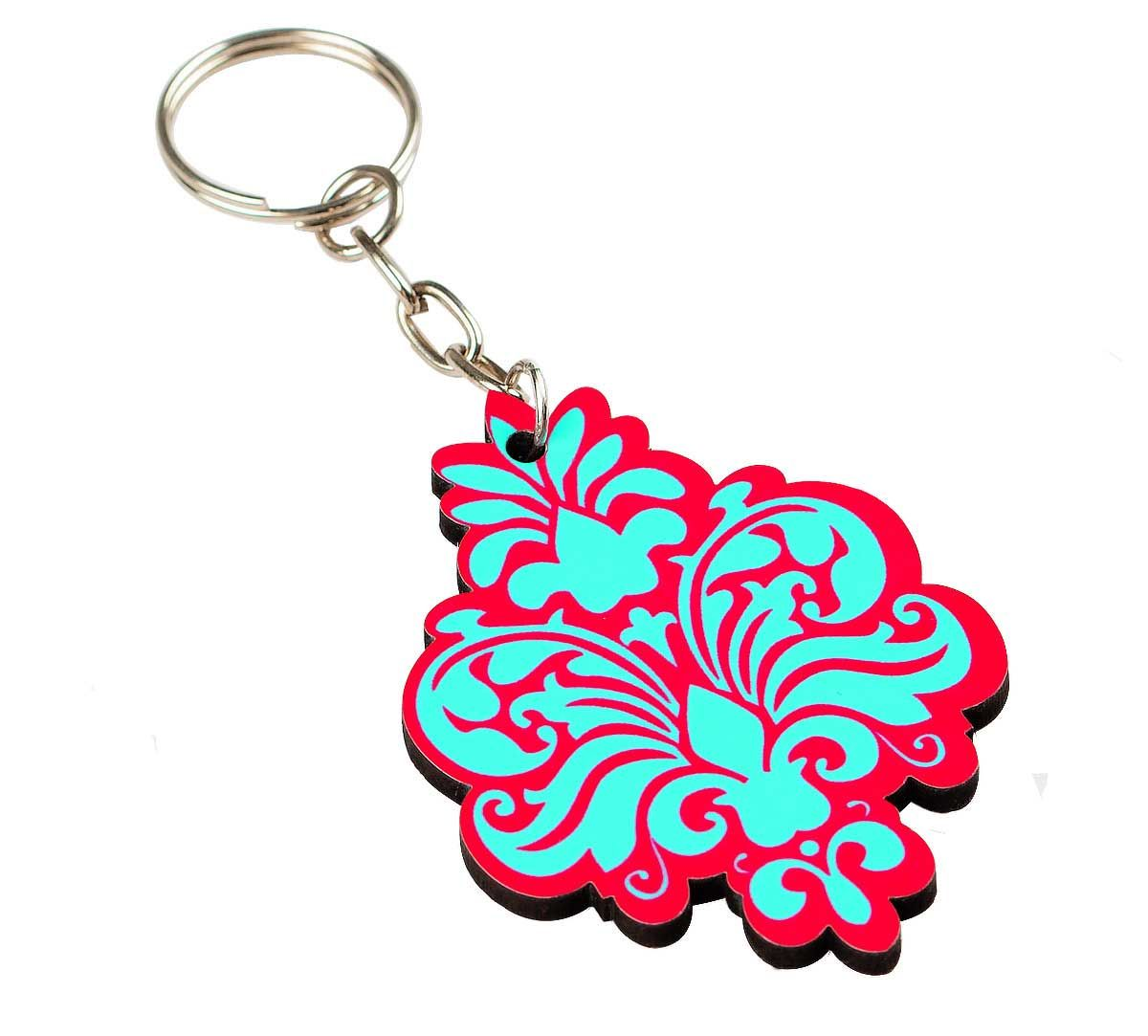Floral Blossom Keychain