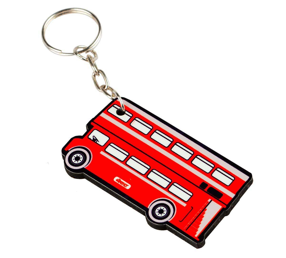 Double Decker Keychain