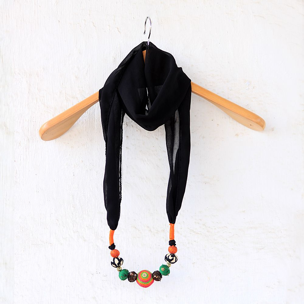 Tamara Midnight Beads Stole