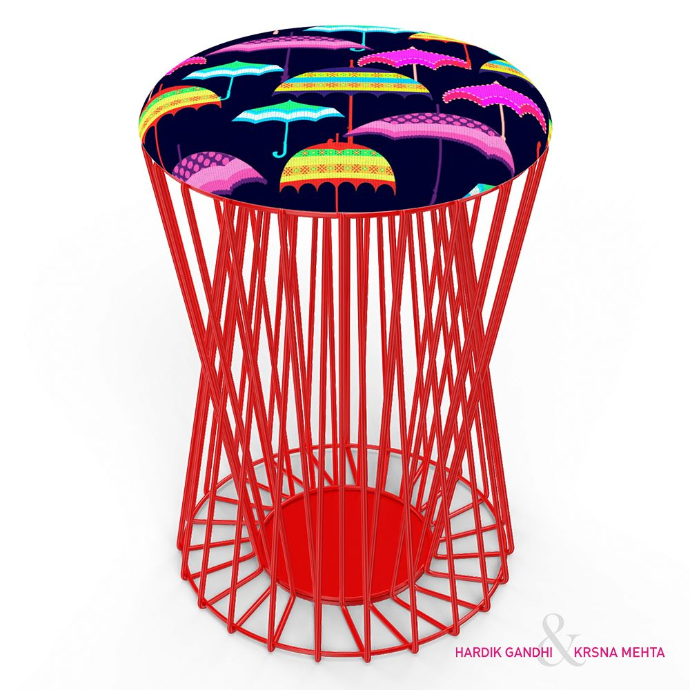 Fab Umbrellas Wiro Stool