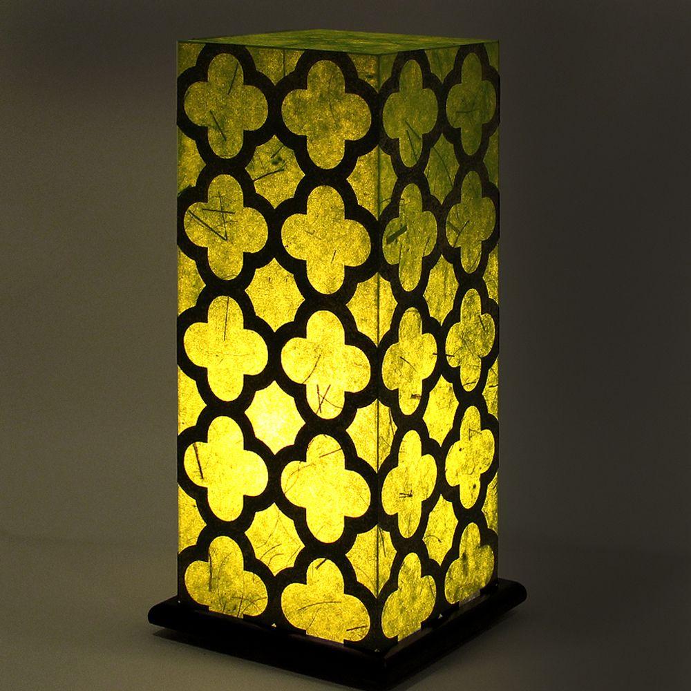Fantasy Green Treillage Table Lamp