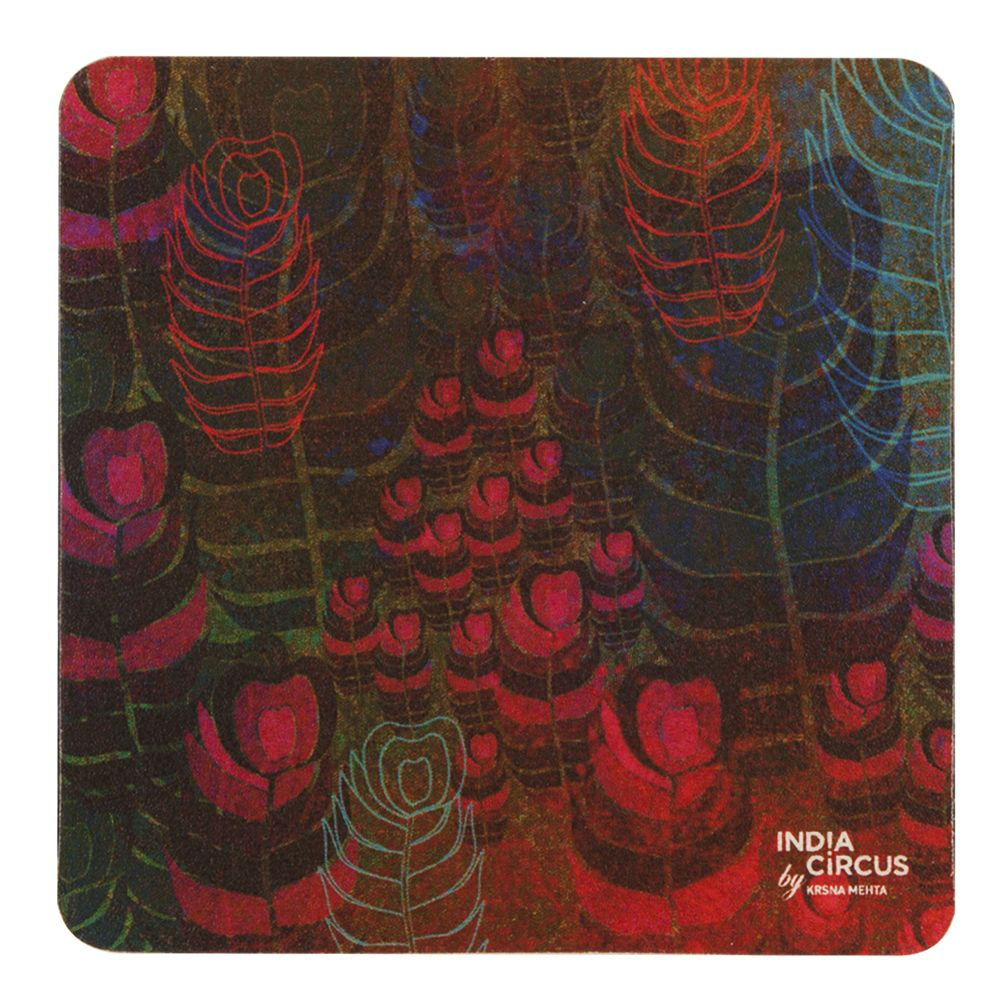Fern Forest Rubber Coasters - (Set of 6)