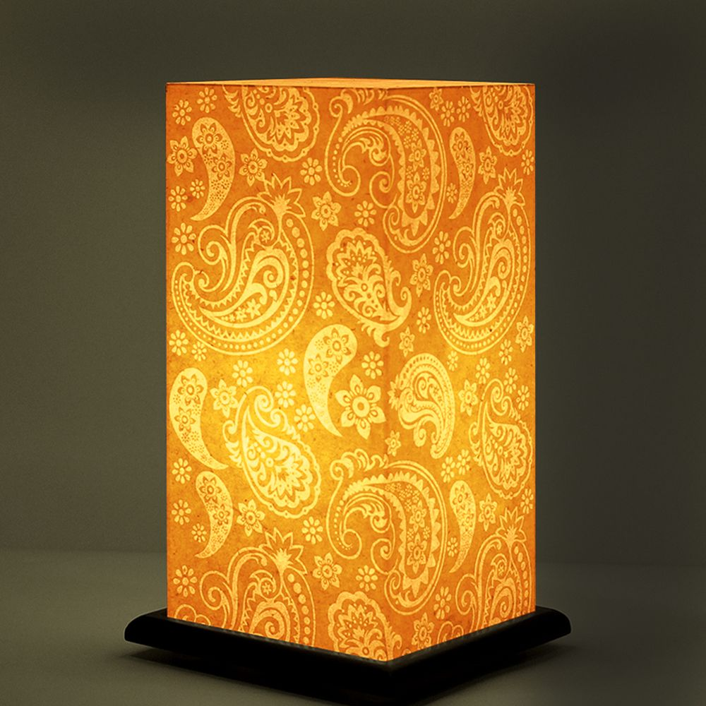 Floral Burst Table Lamp