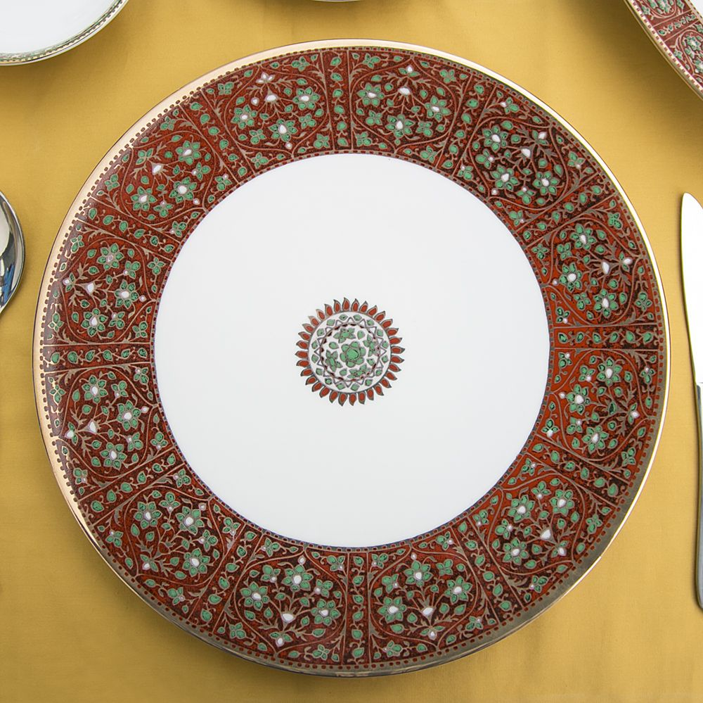Flower Diamonds Dinner Plate-13413.jpg