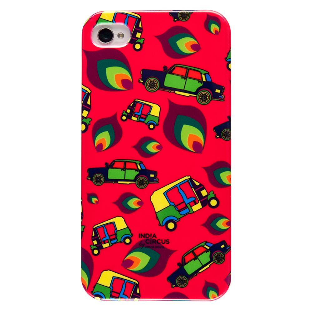 Funky Transport iPhone 4/4s Cover