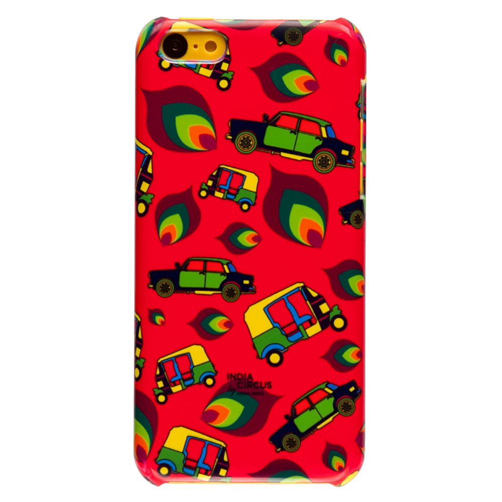 Funky Transport iPhone 5C Cover