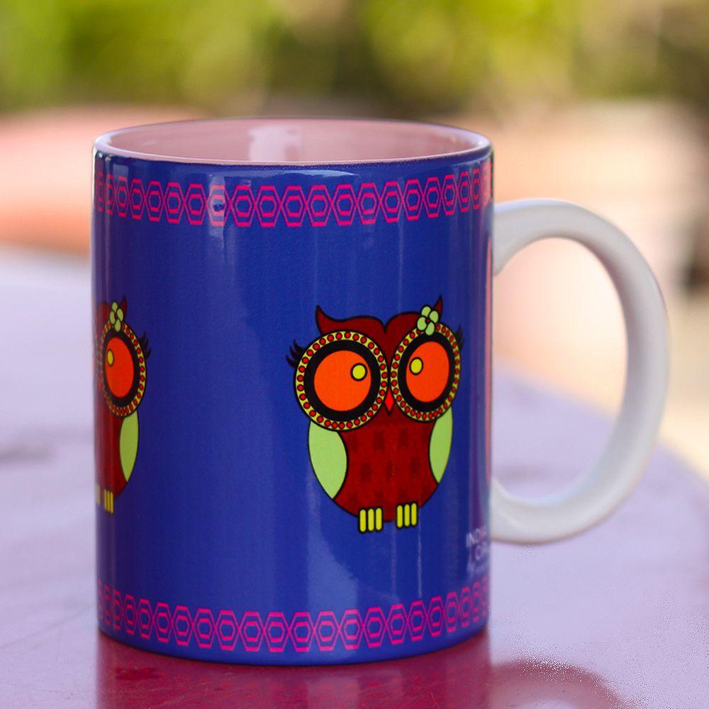 Jalebi Owl Howl Mug