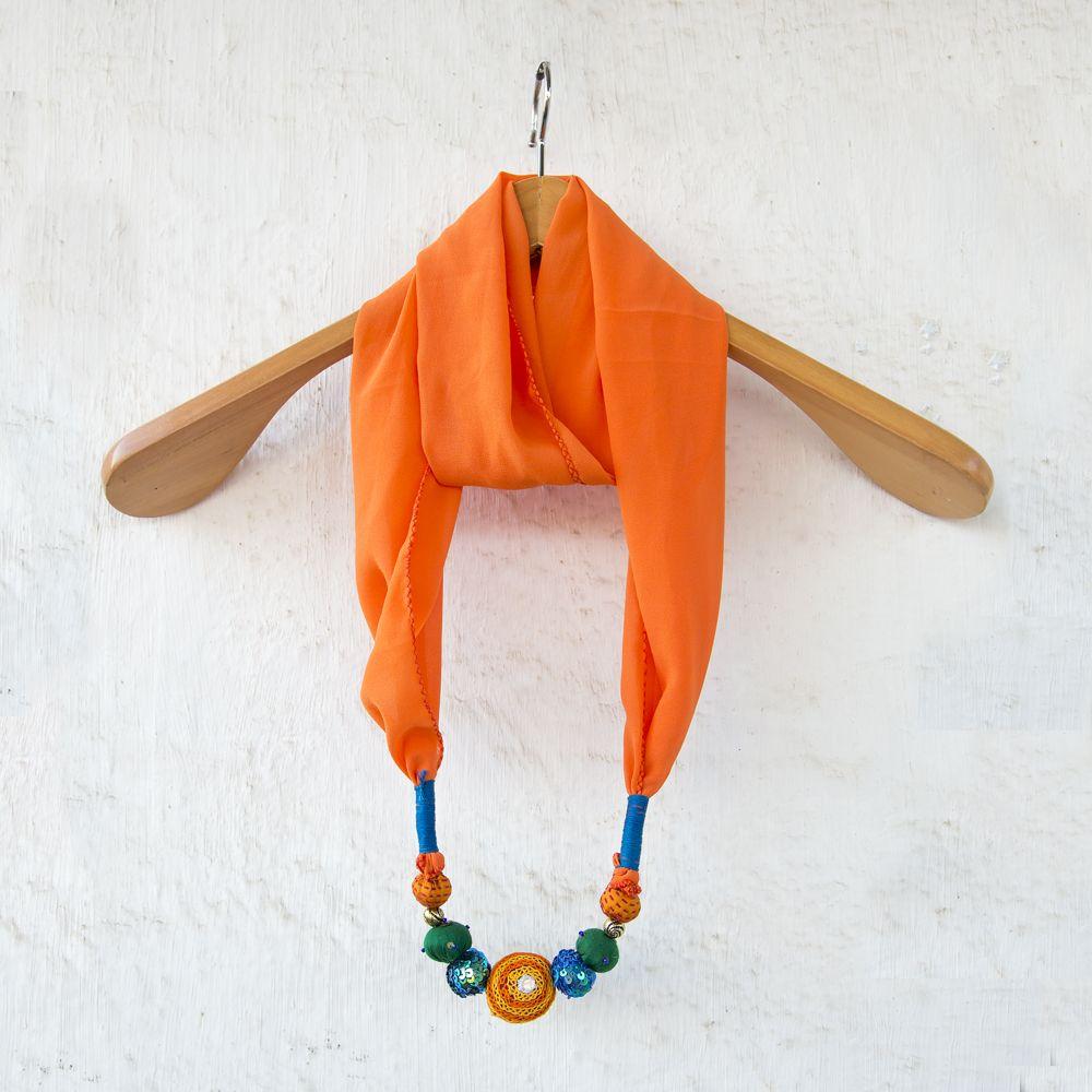 Orange Blush Stole