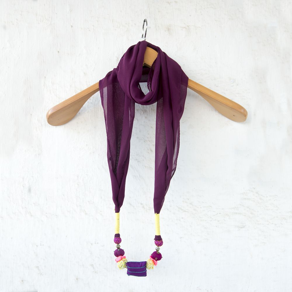 Plum Royal Stole