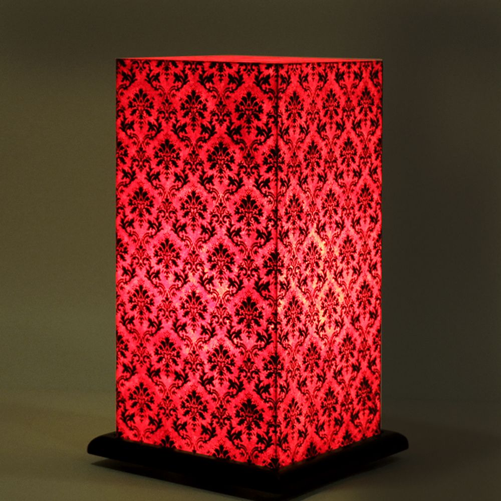 Pretty Paisely Pink Table Lamp