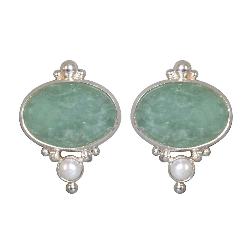 Tamara Green Serendity Calcidony Earrings