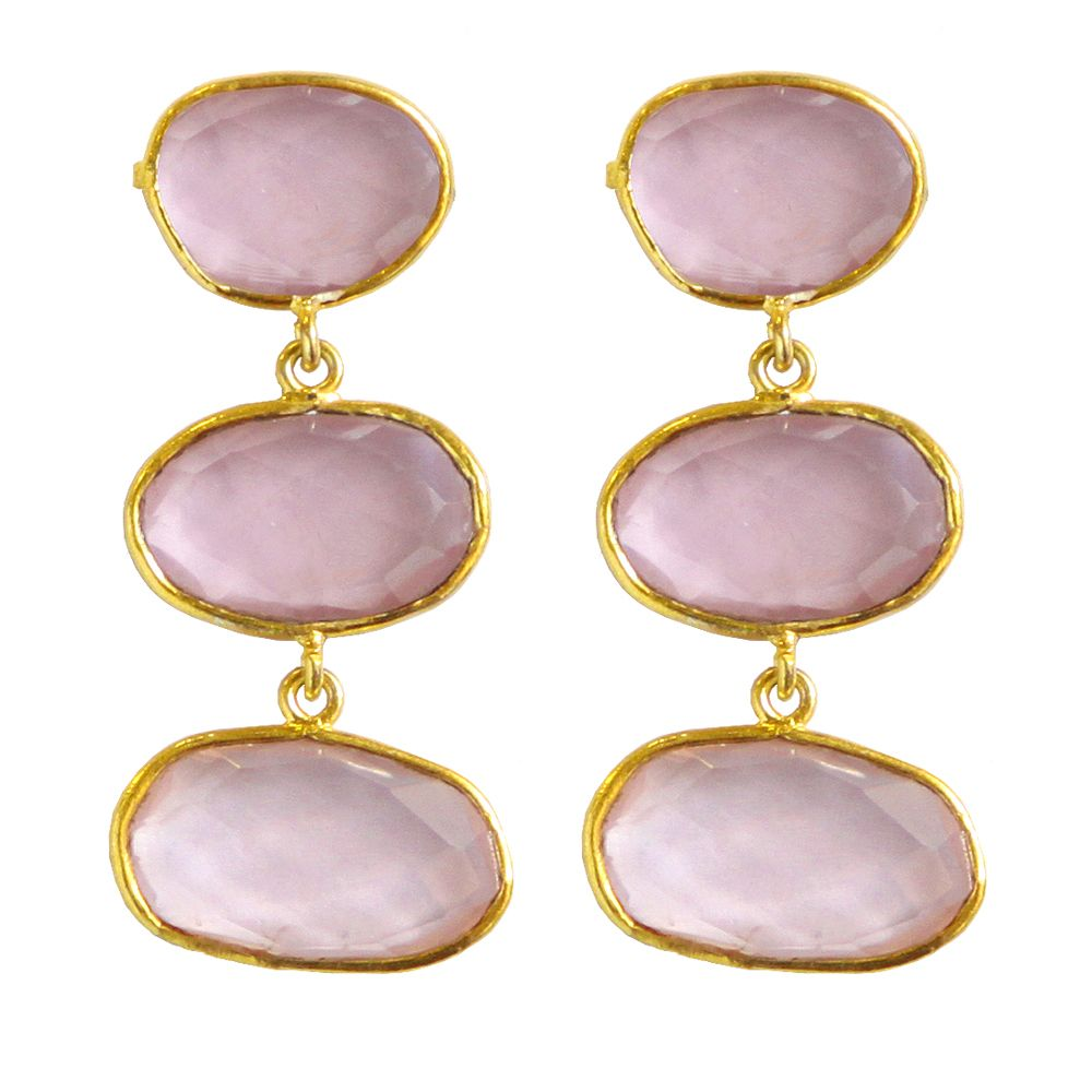 Tamara String of Quartz Earrings
