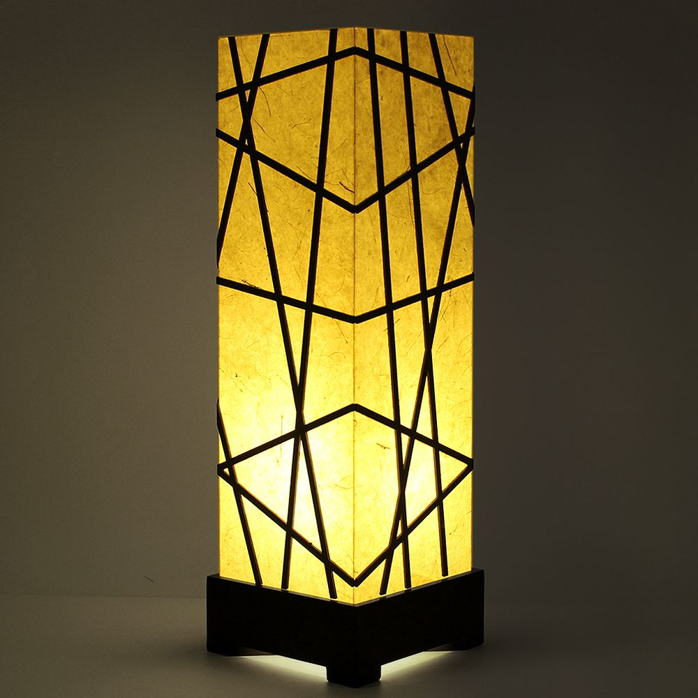 Twilight Geometry Table Lamp