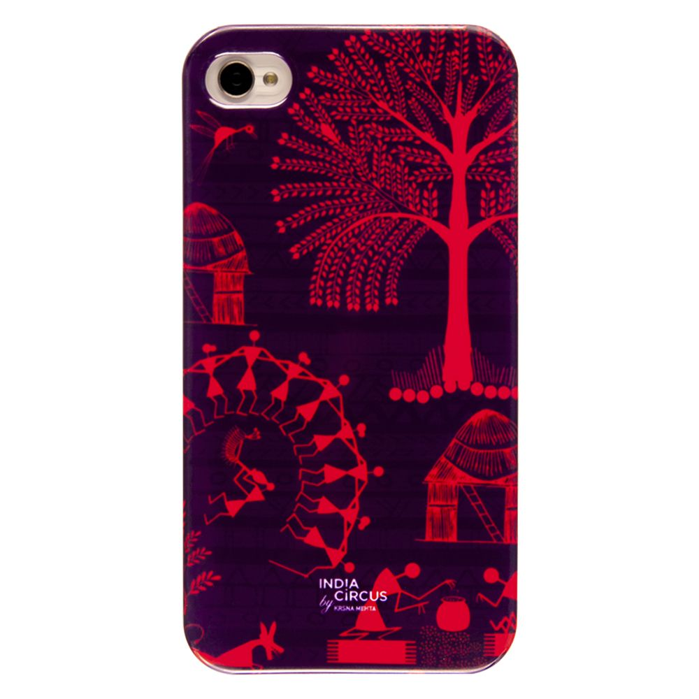 Warli Village iPhone 4/4s Cover