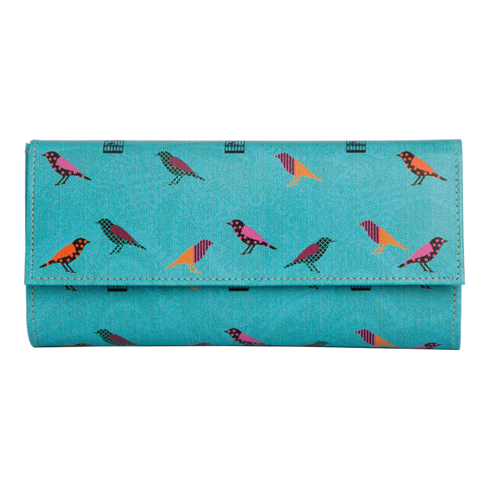 Birds on a Wire Ladies Wallet