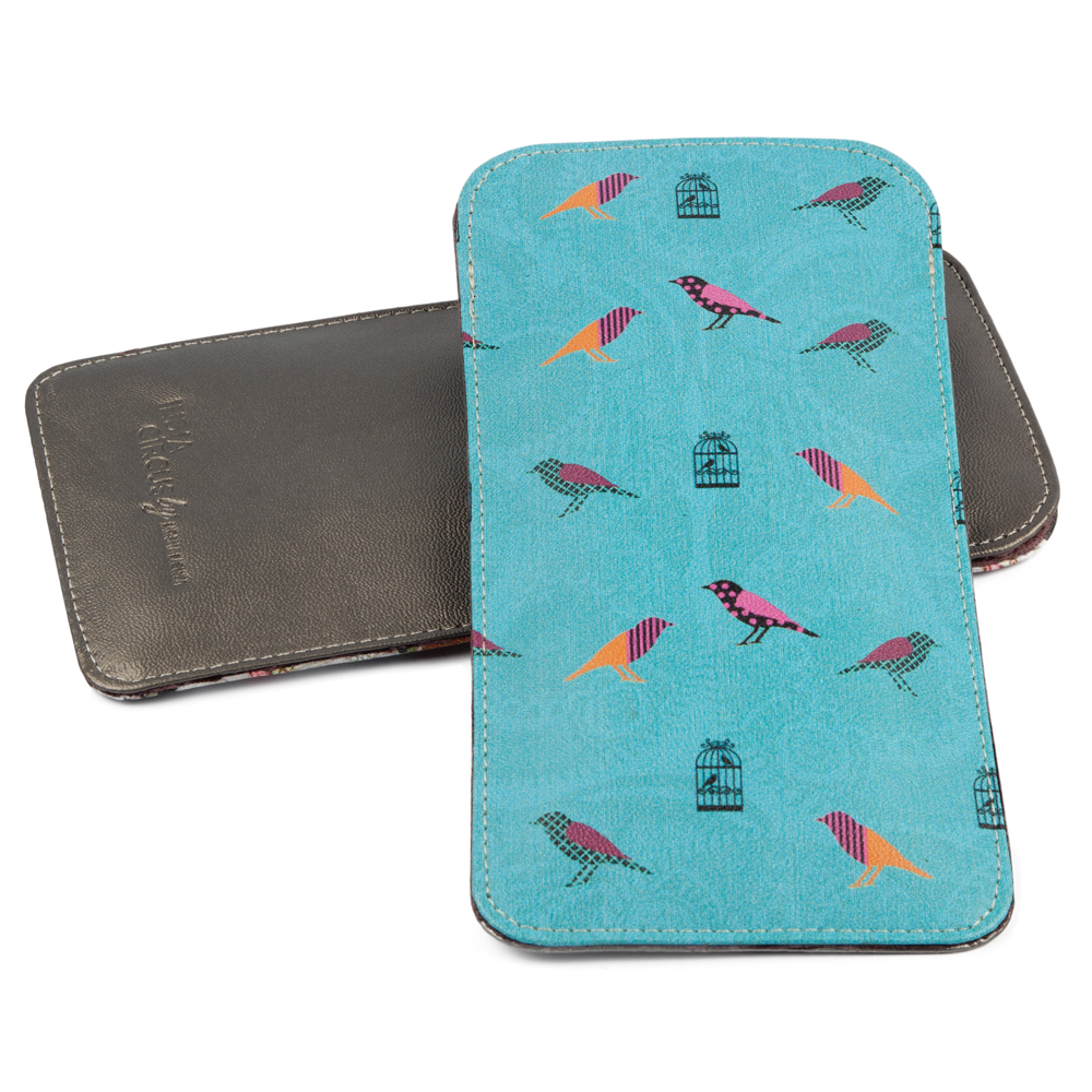 Birds on a Wire Spectacle Case