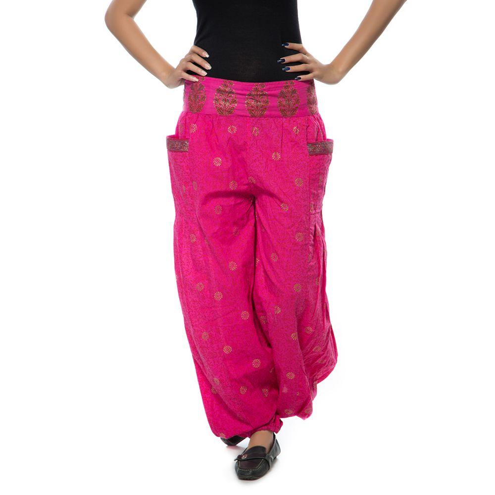Boho Hot Pink Pajamas